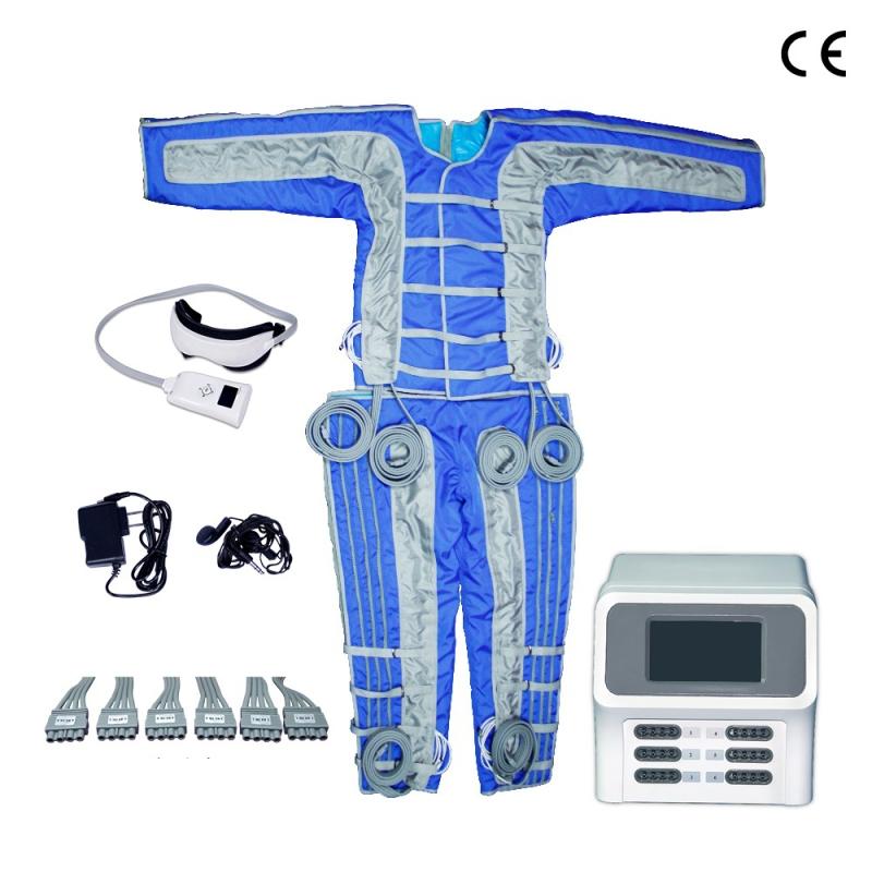 Profi lymfodrenážní přístroj včetně celého obleku