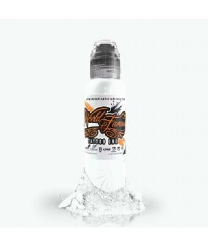 WORLD FAMOUS INK - FUJI MOUNTAIN MIXING WHITE 15ML