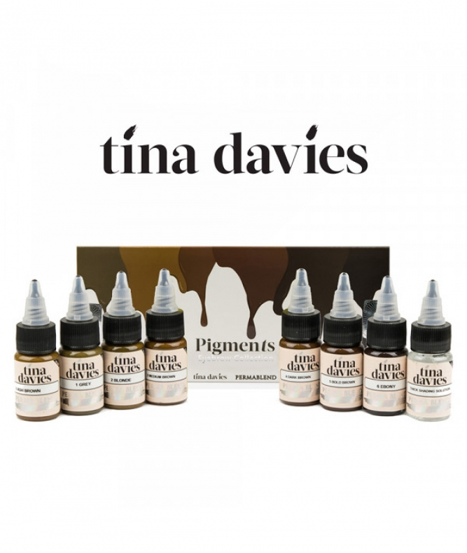 PERMA BLEND TINA DAVIES - Medium Brown
