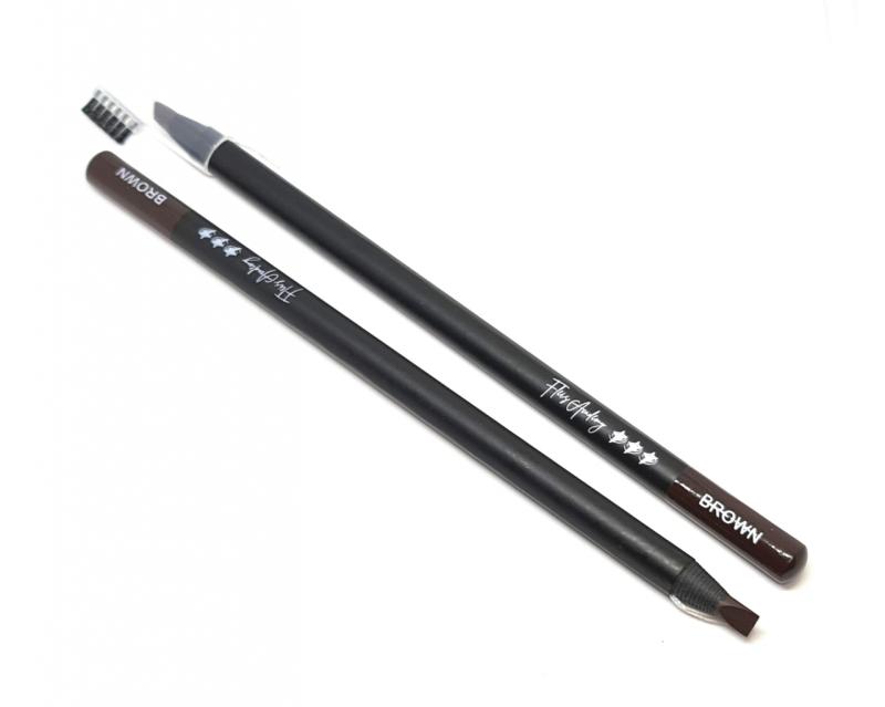 2ks - tužky na předkres obočí hnědé